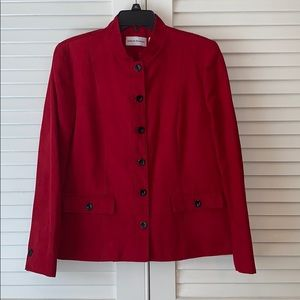 Faux Suede Jacket by Alfred Dunner